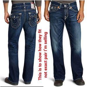 True Religion Billy Super T Jeans || 34